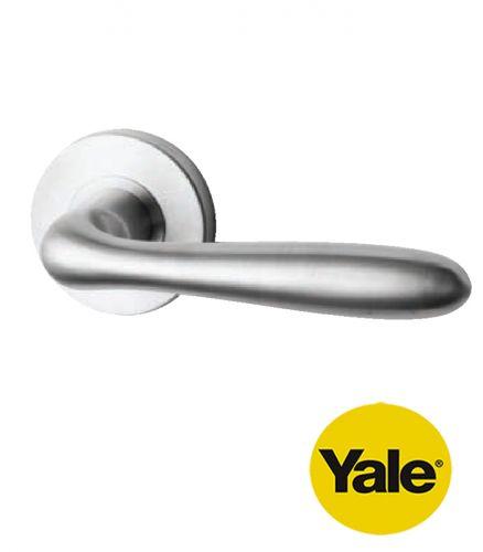 Tay nắm gạt cửa Inox tay rỗng Yale YTL-050
