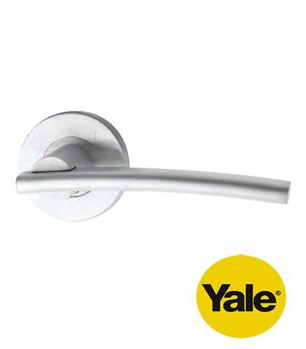 Tay nắm gạt cửa Inox tay đặc Yale YSL-080