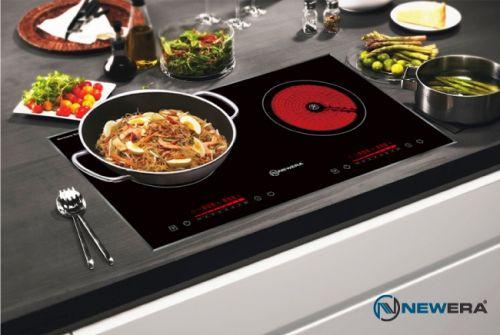 Bếp điện từ kết hợp hồng ngoại NewEra Đức