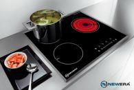 Bếp điện từ  NewEra 3 vùng nấu 2 từ 1 hồng ngoại NE6633IC