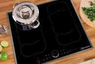 Bếp điện từ  NewEra 4 vùng nấu NE60C4V kèm vỉ nướng BBQ