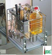 Giá Đựng Gia vị, Chai Lọ, Dao Thớt Nan Vuông Edel ED.400