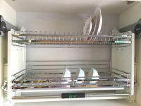 Giá Kéo Di Động Úp Bát Đĩa Inox 304 Cao Cấp Edel AC.160S