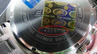 Cách check seri đồng hồ casio để biết chính hãng như thế nào?