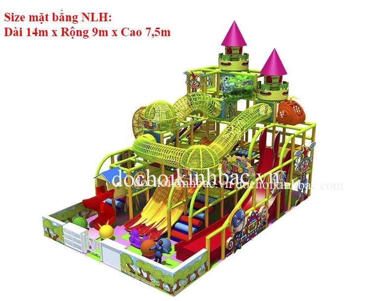Khu vui chơi liên hoàn chủ đề lâu đài NLHD009