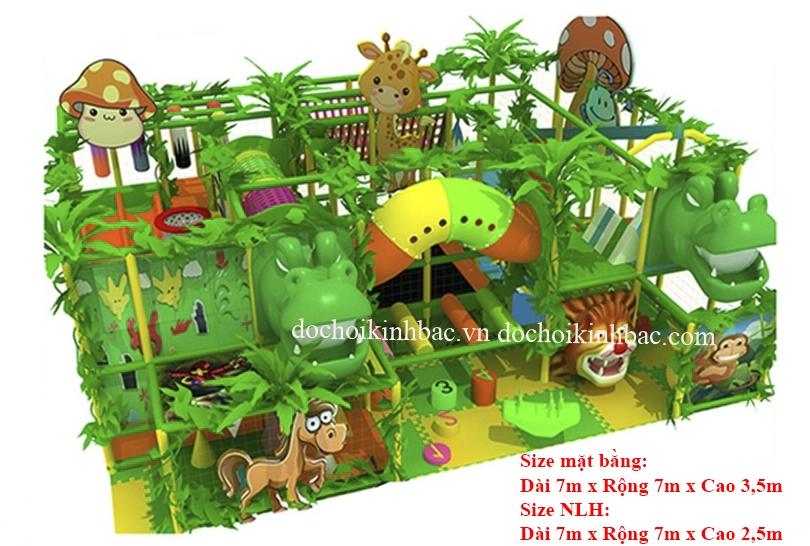 Khu vui chơi liên hoàn chủ đề rừng NLHR004