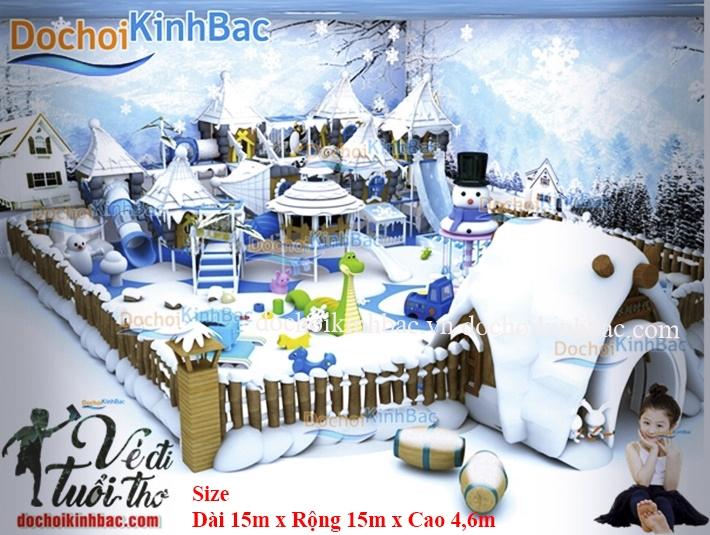 Khu vui chơi liên hoàn chủ đề tuyết NLHT017
