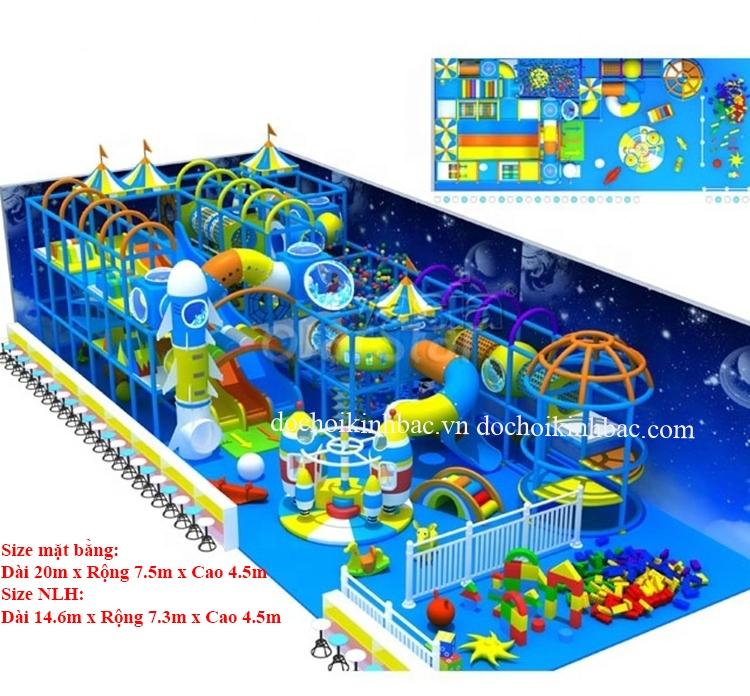 Khu vui chơi liên hoàn chủ đề biển NLHO008
