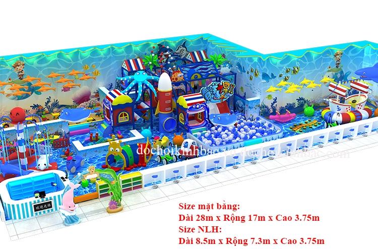 Khu vui chơi liên hoàn chủ đề biển NLHO021