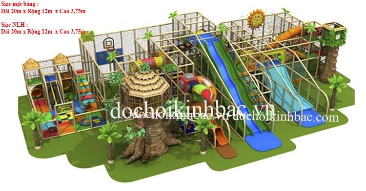 Khu vui chơi liên hoàn 3 - 4 tầng NLHC034
