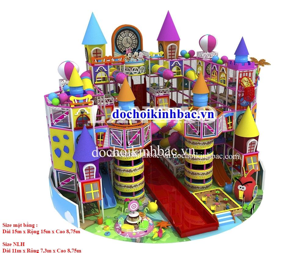 Khu vui chơi liên hoàn 3 - 4 tầng NLHC023