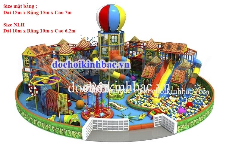 Khu vui chơi liên hoàn 3 - 4 tầng NLHC003