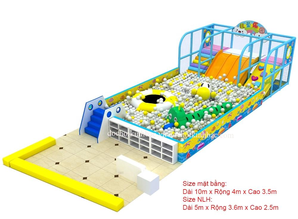 Khu Vui Chơi Liên hoàn diện tích 25-50 m2 LHSB003