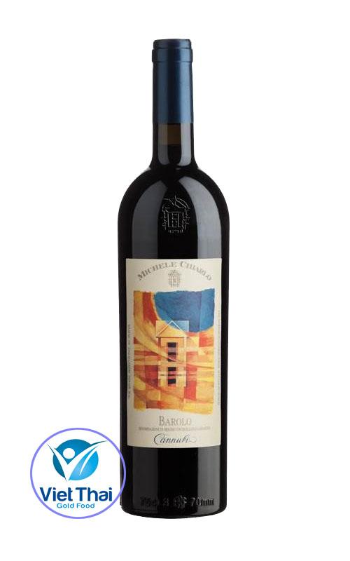 Rượu vang Michele Chialo Barolo Cannubi