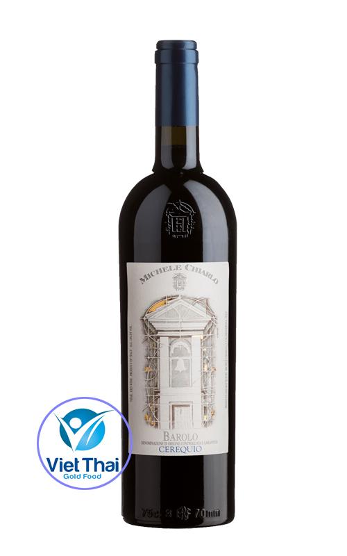 Rượu vang Michele Chialo Barolo Cerequio