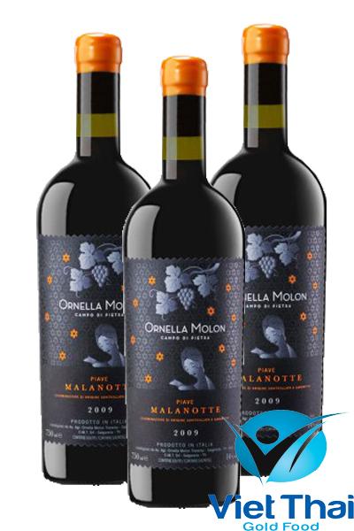 Rượu vang Ornella molon malanotte
