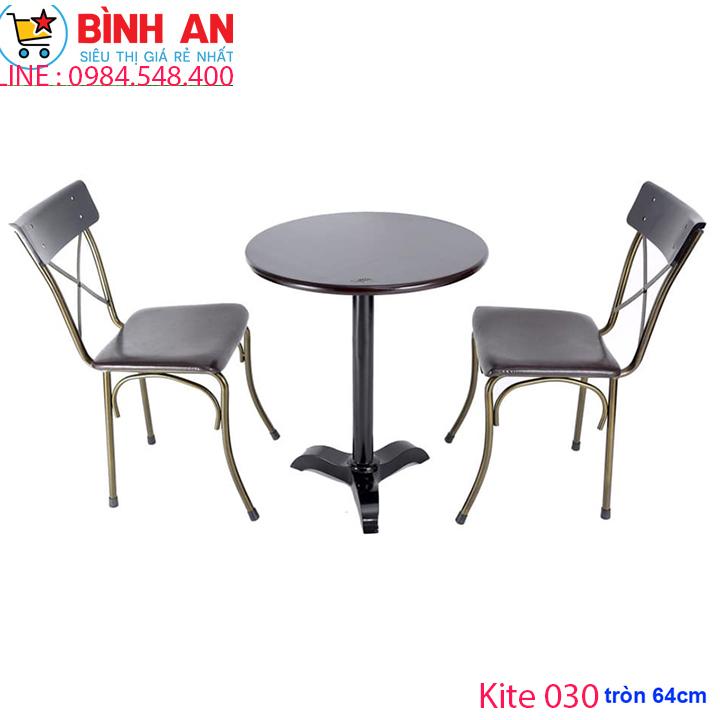 bàn ghế cafe fansipan Kite tròn