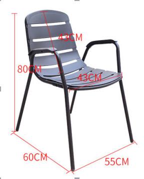bàn ghế sân vườn T80