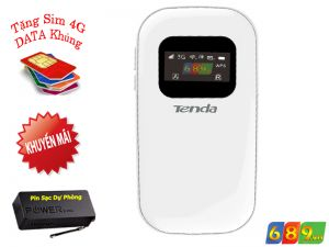 Bộ Phát WiFi 3G Tenda 3G 185 Tốc Độ 21.6Mbps
