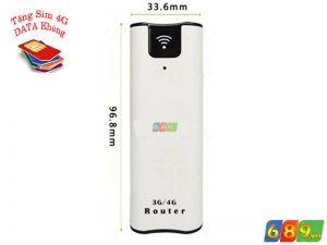 Wifi 3G Kiêm Pin Sạc HSPA BB08 Tốc Độ 43.2Mbps