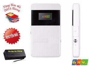 Bộ Phát WiFi 3G ZTE MF63 Tốc Độ 21.6Mbps