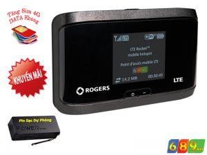 Bộ Phát Wifi 3G-4G Netgear  AirCard 763s Tốc Độ 100Mbps