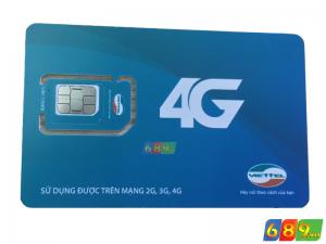 Sim Dcom 4G Viettel Khuyến Mại 7Gb/Tháng Tổng 86Gb/Năm