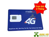 Sim 4G Mobifone Trọn Gói 3 Tháng Không Giới Hạn Dung Lượng