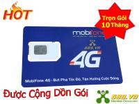 Sim MobiFone 4G Trọn Gói 10 Tháng (5Gb/Tháng) Có Nghe Gọi Nhắn Tin