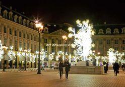 Thăm kinh đô ánh sáng dịp Giáng sinh