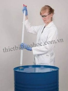 Dụng cụ lấy mẫu chất lỏng bằng PP, dài 1m
