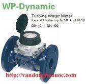 Đồng hồ đo nước mặt bích hiệu SENSUS - Germany - DN80, gắn đường ống D90