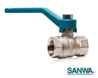 """Van bi 3"""" Sanwa Thái Lan lắp ống phi 90mm"""
