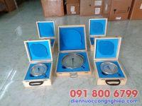 Đồng hồ áp suất dầu mặt D200mm
