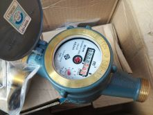 """Đồng hồ nước Asahi DN15 lắp đường ống phi Φ21mm (½"""")"""