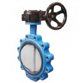 Marine Wafer Butterfly Valve with Worm Gear JIS F7480