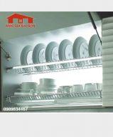 Khay úp chén 2 tầng âm tủ 401001 - 304