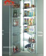Kệ inox tủ đồ khô 18 rổ 203033