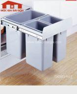 Thùng rác cao cấp 3 ngăn CLG025B