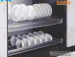 Kệ chén cố định tủ trên Garis GB04C