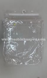 Túi nhựa PVC có móc 16