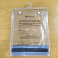 Túi nhựa PVC có móc 24