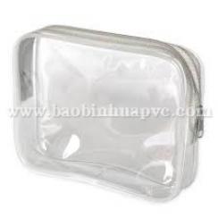 Túi nhựa PVC đựng mỹ phẩm 35