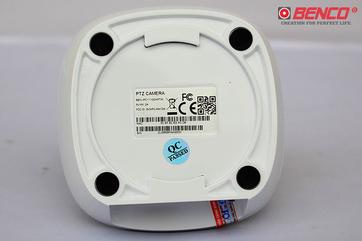 Mặt đáy Camera IP Benco BEN-IPC1110DHPTW
