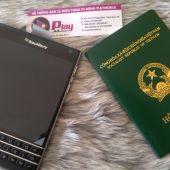 Vài hình ảnh thực tế Chân thực từ Blackberry Passport Mới nguyên Hộp đáng mua lúc này với mức giá 4 triệu đồng