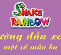 Hướng dẫn xoay ghép một số mẫu Snake Rainbow bộ ba