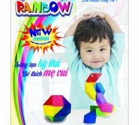 Các bé sáng tạo các mô hình thú vị cùng với Snake Rainbow