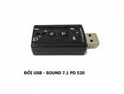 Đổi USB - Sound 7.1 PD 520