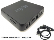 TV Box Anroid OTT MXQ II 4K