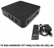TV Box Anroid OTT MXQ ULTRA HD (8G) 4K